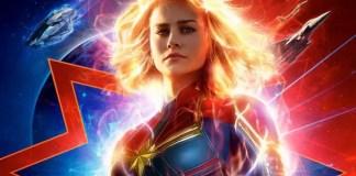 imagem do novo poster de Capitã MArvel