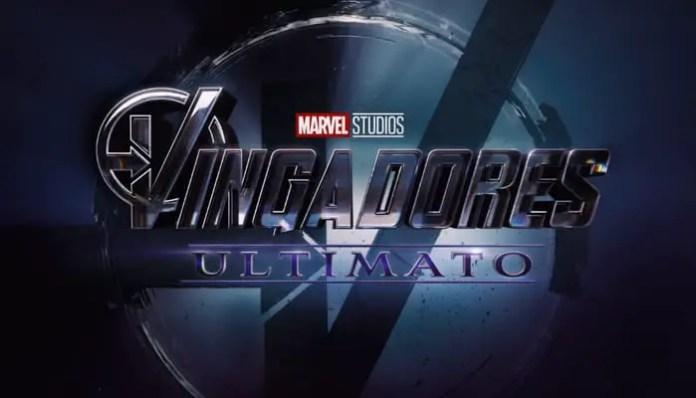 logo de Vingadores Ultimato