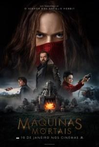 poster de Máquinas Mortais