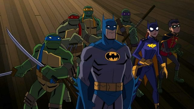 Batman vs Tartarugas Ninja