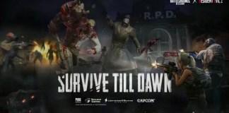 PUBG MOBILE e Resident Evil 2