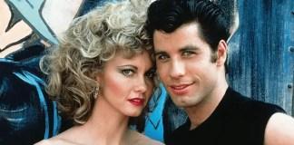 Imagem de John Travolta e Olivia Newton-John