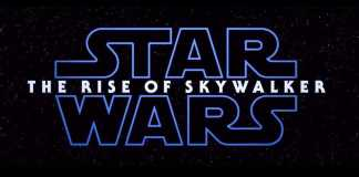 Logo do filme Star Wars Rise of Skywalker