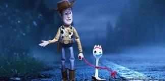 Woody e Garfinho em Toy Story 4