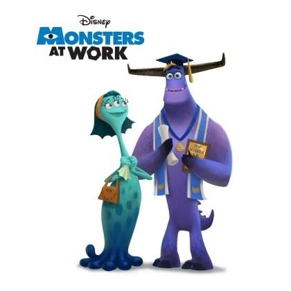 Monsters At Work novo pôster