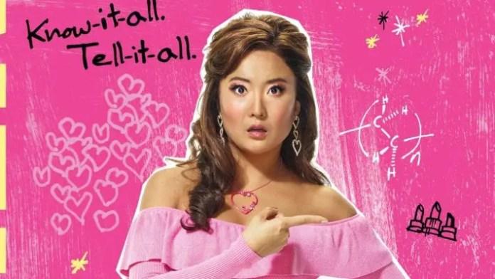 ashley park no poster promocional de mean girls