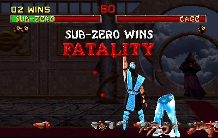 fatality no jogo mortal kombat