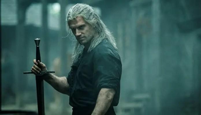Geralt em The Witcher