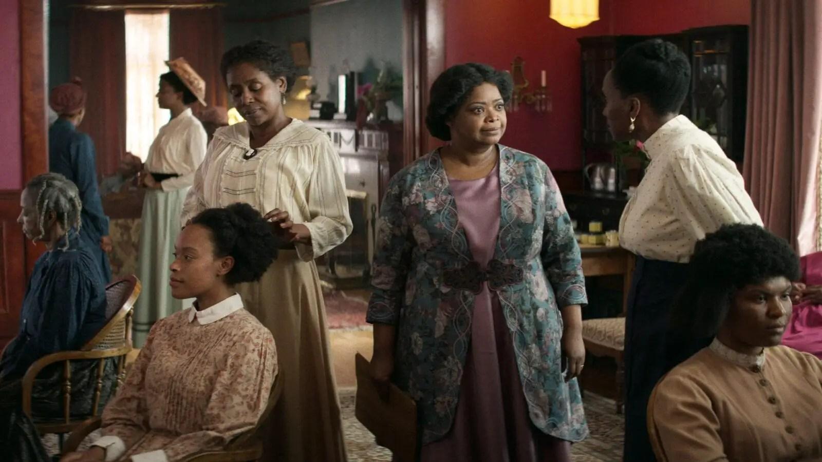 A Vida e a História de Madam C.J. Walker é destaque entre os ...