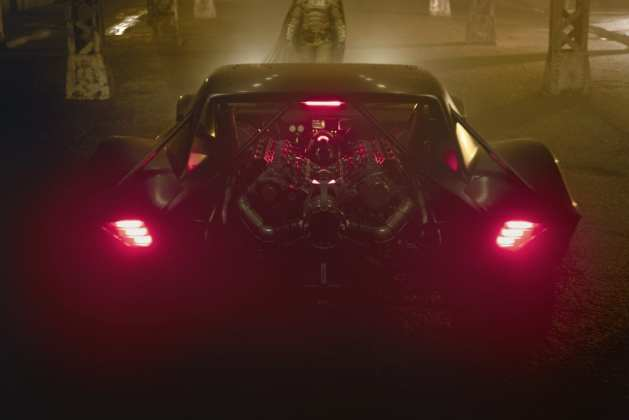 Batmóvel em The Batman imagem oficial 3