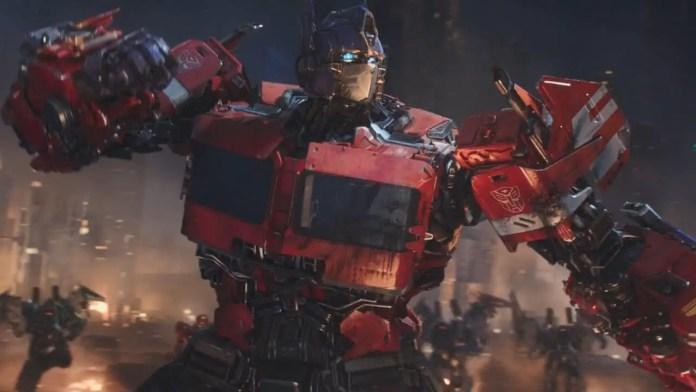 Optimus Prime da franquia Transformers