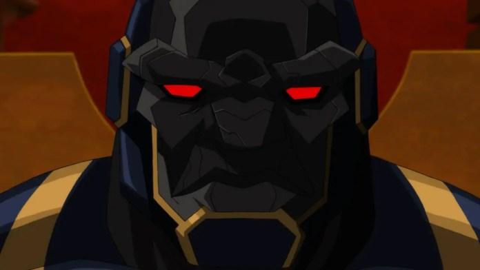 Imagem do Darkseid em Liga da justiça sombria guerra de apokolips
