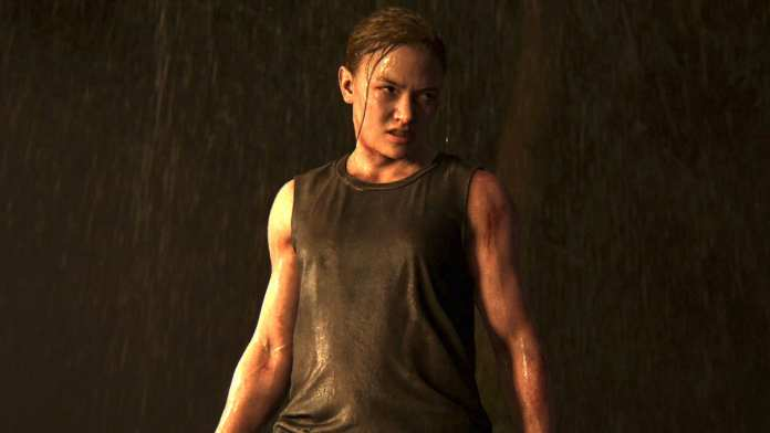 Abby em The Last of Us Parte II