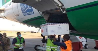 Mais de 100 mil doses da Coronavac chegam a Minas Gerais