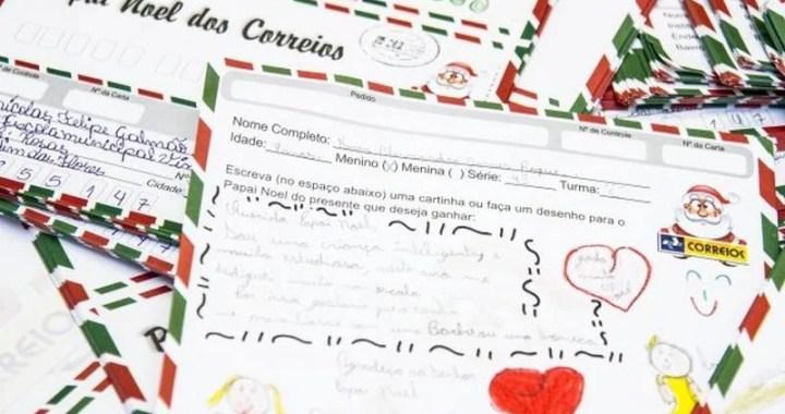 Em parceria com os Correios, funcionários da Emlur adotam 200 cartinhas
