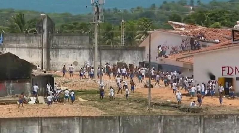 RN enfrenta terceiro motim em presídio e governo anuncia construção de muro