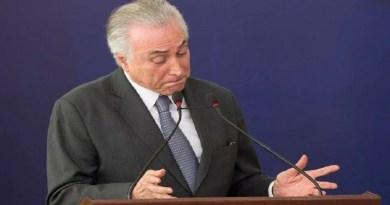 PF: Temer recebeu R$ 5,9 milhões de propina em setor portuário