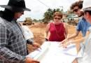 Márcia Lucena visita obras de pavimentação da PB-018 e em Jacumã
