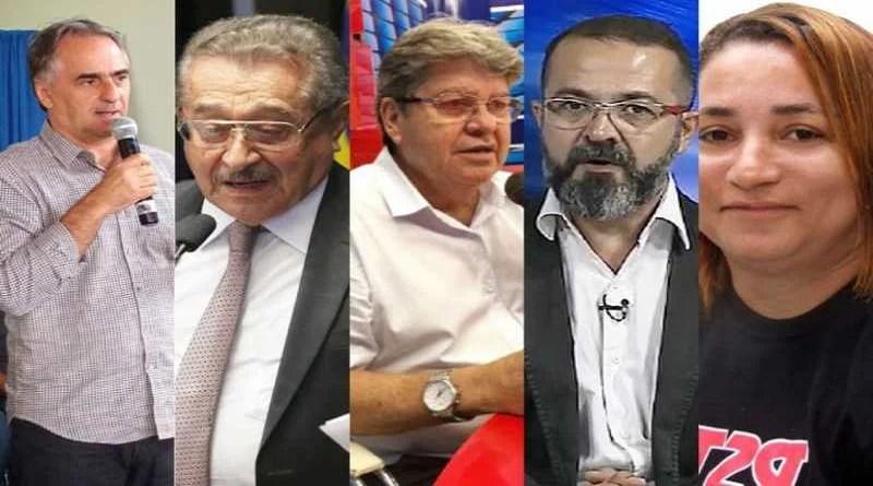 Saiba onde estarão e o que farão os candidatos ao Governo da Paraíba