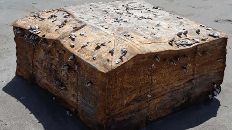 Caixas misteriosas achadas no NE podem ser de navio da 2ª Guerra