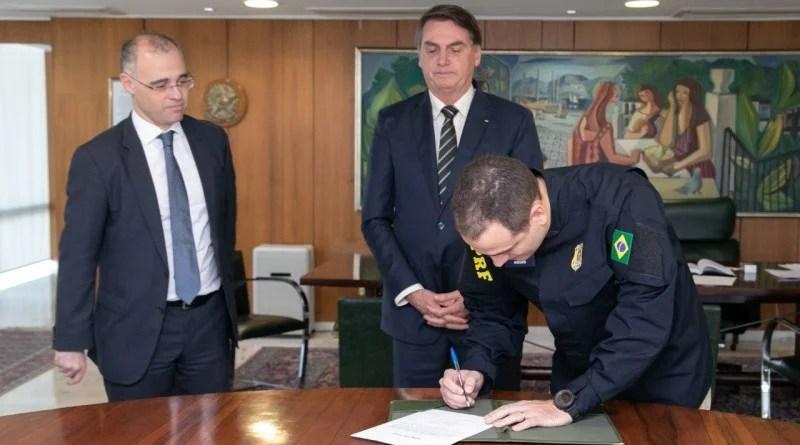 Eduardo Aggio toma posse como novo Diretor-Geral da Polícia Rodoviária Federal