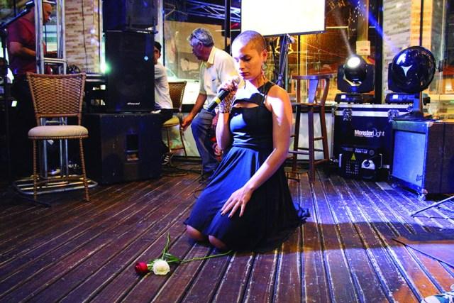 Larissa 2º lugar intérprete