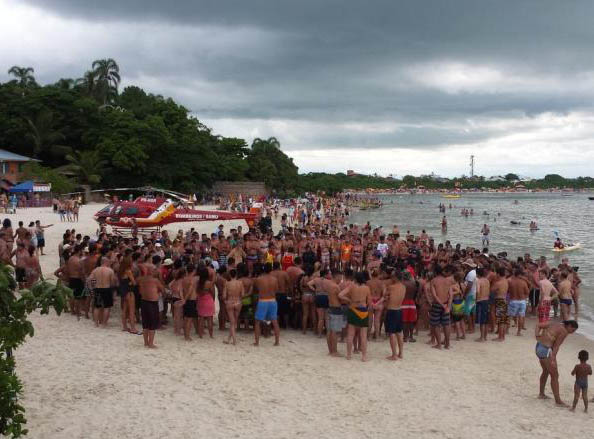 Paulista morre afogado na Praia da Daniela no Norte da Ilha