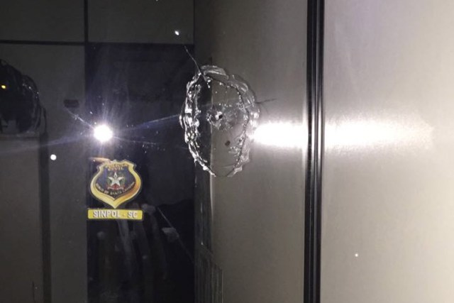 Delegacias do Norte da Ilha são alvo de atentados durante a madrugada