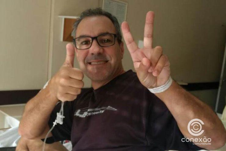 """""""Meus colegas me devolveram a vida"""", diz Bombeiro salvo de três paradas cardiorrespiratórias"""
