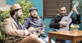 "Trio Quintina faz show ""Despedida"" no Teatro do Paiol"