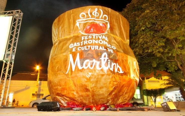 Prefeita Olga Fernandes anunciará em breve o Festival de Gastronomia de Martins.