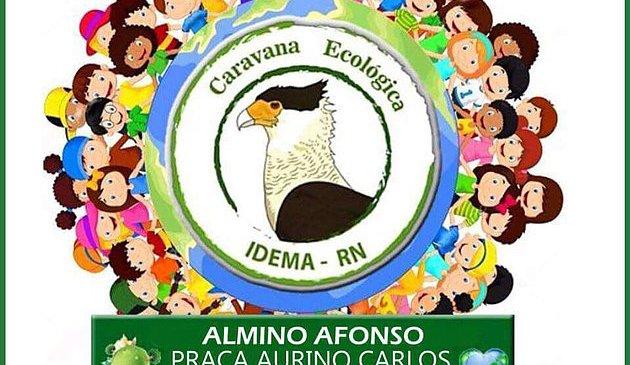 Almino Afonso recebe a Caravana Ecológica do IDEMA