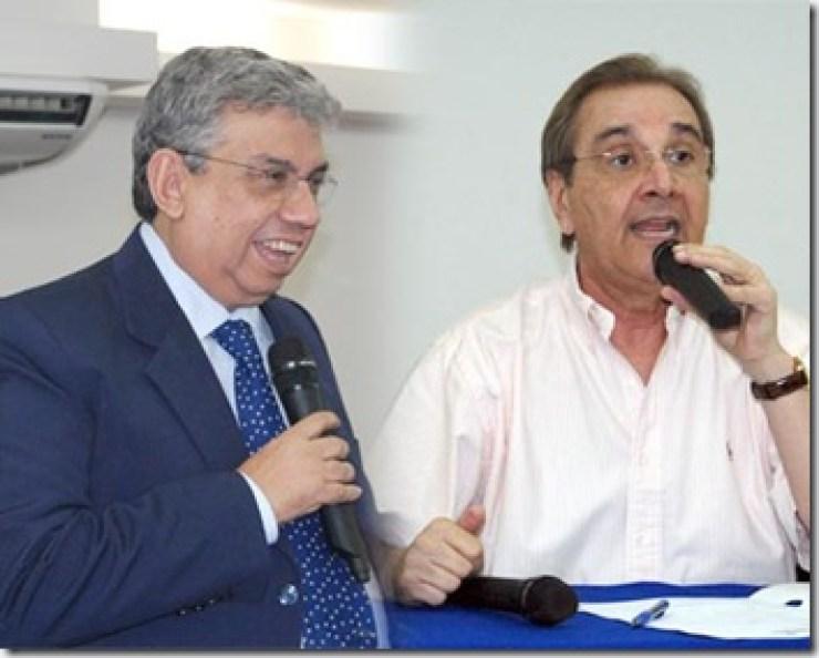 Resultado de imagem para José Agripino Maia(DEM) e Garibaldi Alves Filho(PMDB)