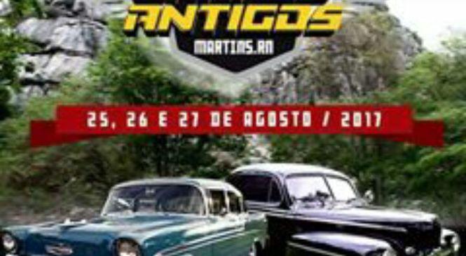 5º Encontro de Carros Antigos de Martins acontece nesse final de semana