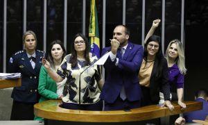 Eduardo Bolsonaro e PSL