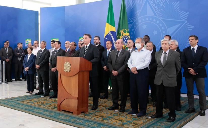 Mais da metade do país concorda com o impeachment de Bolsonaro