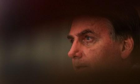 12.04.2020 - Brasília/DF - Presidente da República Jair Bolsonaro, chora durante videoconferência com lideranças religiosas em comemoração da Páscoa. Foto: Marcos Corrêa/PR