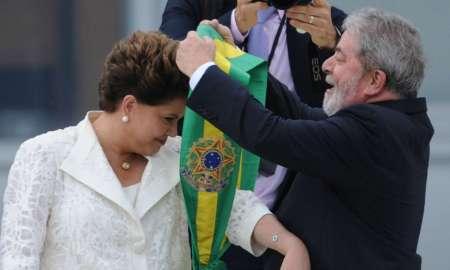 01.01.2011 - Brasília/DF - Dilma Rousseff recebe a faixa presidencial de Lula. Foto: Fabio Rodrigues Pozzebom/ABr.
