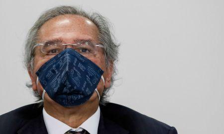 10.06.2020, Brasília/DF - Paulo Guedes durante videoconferência. Foto: Isac Nóbrega/PR