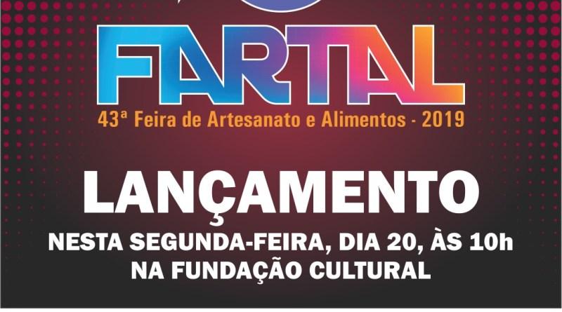 Fartal será lançada às 10h na Fundação Cultural