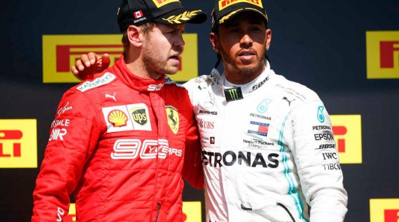 Hamilton: Eu forcei o erro de Vettel, mas não quis ganhar com penalidade