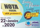 São Miguel do Iguaçu: Campanha 'Nota Fiscal dá Prêmio' segue até mês que vem