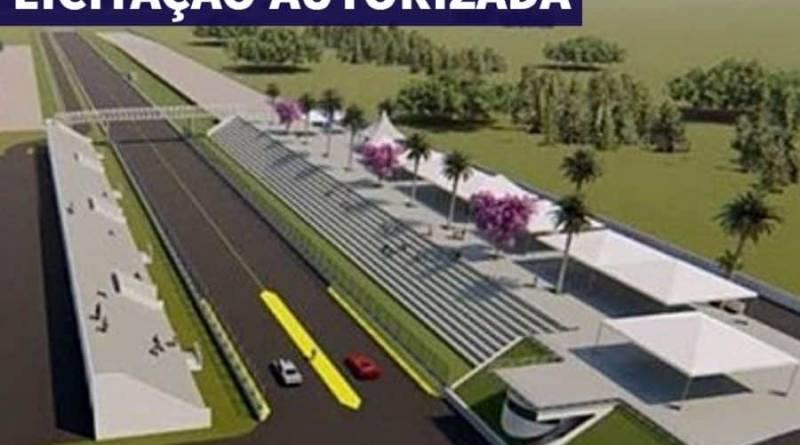 Prefeitura de Foz, abre licitação para terraplanagem do VELOFOZ