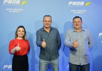 Karla Galende é confirmada candidata à prefeita pelo PSDB em Santa Terezinha de Itaipu