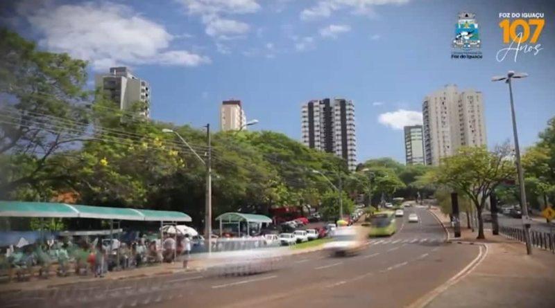 Foz do Iguaçu 107 Anos.