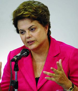 Crescimento baixo do PIB e aumento da inflação podem dificultar reeleição de  Dilma Rousseff | Foto: Fábio Rodrigues Pozzebom/ABR
