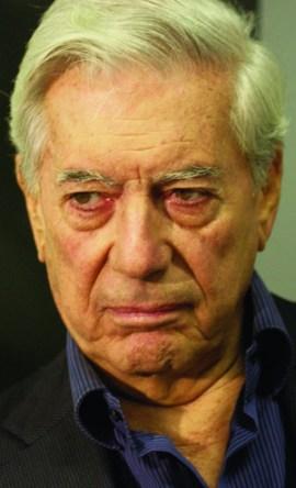Mario Vargas Llosa, ganhador do prêmio Nobel de Literatura e considerado um dos mais importantes escritores da atualidade