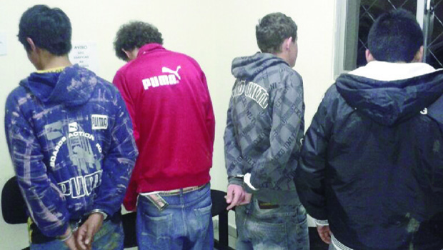 "Menores são apenas ""apreendidos"" após cometerem crimes, mesmo hediondos   Foto: Willian Gualberto/PM-RN"