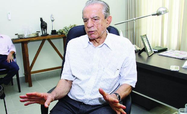 Iris Rezende acredita que agora poderá montar uma chapa que consiga alcançar os votos que faltaram em 2010 / Fotos: Fernando Leite - Jornal Opção