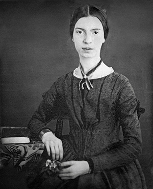 Emily Dickinson: a Walt Whitman de saia dos Estados Unidos. Foto: Wikipedia
